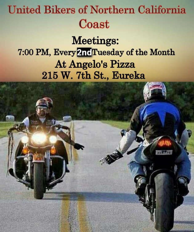 UBNC Coast Meetings - 2nd Tuesdays