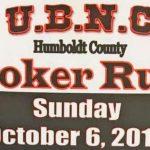 U.B.N.C. Humboldt County Poker Run - Sun Oct 6, 2019