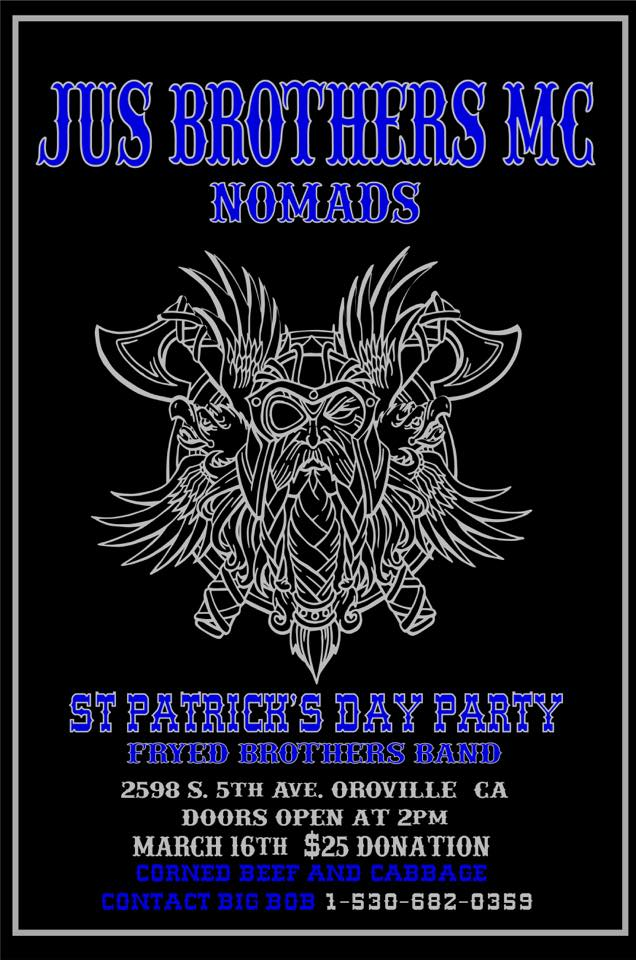 Jus Brothers Nomads MC St. Patricks Day Party 2019