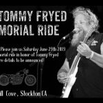The Tommy Fryed Memorial Ride - June 29, 2019