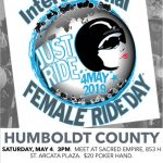 International Female Ride Day - Humboldt County CA