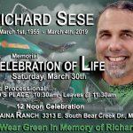 "Richard Sese ""Celebration of Life"" Memorial - Sat Mar 30, 2019"