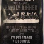 Family MC Humboldt 3rd annual Dinner - Sun April 7, 2019