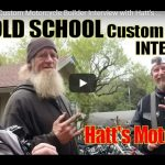 Hillon2Wheels Old School Custom Motorcycle Builder Interview with Hatt's Motorcycle