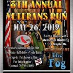 Good Ol Boys MC - 8th annual Veteran's Run - May 26, 2019 Santa Rosa