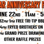 Fryed Brothers Band at Harley-Davidson Yuba City 3rd anniversary Party - Sat June 22, 2019