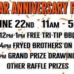 Fryed Brothers Band at Harley-Davidson Yuba City 3rd anniversary Party - Sat June 22, 2019