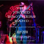 The Fryed Brothers Band @ The RockSlide Bar & Grill - Hawkins Bar, CA | July 20, 2019