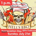 Hell's BBQ - Hells Angels Yavapai Co. MC - Appreciation Day | Sun July 21