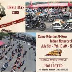 Indian Motorcycle Demo Days 2019 - Hollister, CA