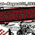 End of Summer Party   Oakland Red & White