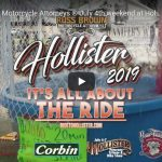 VIDEO | Russ Brown Motorcycle Attorneys ® July 4th weekend at Hollister Rally