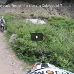 Man on Motorcycle flies off the side of a Colorado cliff | VIDEO