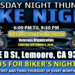 Thursday Night Thunder - Bike Night - Lemoore, CA - 1st & 3rd Thursdays
