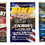 Bike Nights | M.O.B. of Humboldt - West Coast Wednesdays (Hanford CA) - House of Thunder (Morgan Hill, CA) - Route 66 Classic Grill (Santa Clarita CA) - Thursday Night Thunder (Lemoore CA) - San Francisco H-D - Hellbilly Night (Eureka CA)