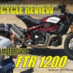 MOTORCYCLE REVIEW: Indian Motorcycle FTR 1200 | Hillon2Wheels | VIDEO
