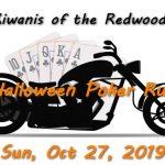 Kiwanis of the Redwoods Halloween Poker Run