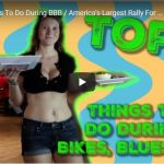 VIDEO | Top 5 Things To Do During Bikes, Blues & BBQ / America's Largest Rally For Charity | ADAM SANDOVAL RIDES