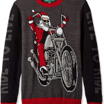 """Santa """"Ride To Live"""" Ugly Christmas Sweater $29.99"""