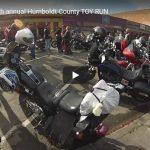 VIDEO   U.B.N.C. 44th annual Humboldt County TOY RUN   Aaron Milhorn