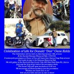 Celebration of Life for Don Gene Kohls - Samoa to Eureka, CA