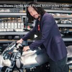 VIDEO | Keanu Reeves Shows Us His Most Prized Motorcycles | Collected | GQ