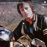 Not so Easy - A Motorcycle Safety Film 1973 (Peter Fonda, Evel Knievel, LA Police Dep't)