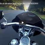 VIDEO | Dads first ride of vacation and me on the LOW RIDER!!!! | GW Vincent