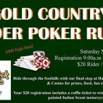 4th Annual Gold Country 49er Poker Run