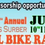 SPONSORSHIP OPPORTUNITIES | 7th Annual James Surber ALL BIKE RACE