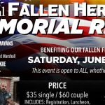 22nd Annual Fallen Heroes Memorial Ride - Fire Hogs M/C LAFD