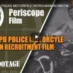 1940s LAPD POLICE MOTORCYCLE PATROLMAN RECRUITMENT FILM HARLEY-DAVIDSON PANHEAD MOTORCYCLE 54074 | Periscope Film