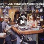 Welcome to 41LIVE! Virtual Bike Night & Hooligan Happy Hour! | April 16, 2020