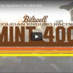 Racing a Harley Sportster in the Mint 400 | Biltwell