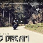 'LUCID DREAM' - Custom Honda Rebel 450 by TWINTHING CUSTOM MOTORCYCLES