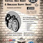 Virtual Bike Night & Hooligan Happy Hour | 41LIVE