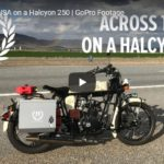 Across the USA on a Halcyon 250 | GoPro Footage | Janus American Motorcycles