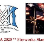 MMA of California - Fireworks Stand Fundraiser 2020