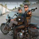 The Terminator 2: All Bike Scenes - Harley-Davidson - FAT BOY - Schwarzenegger | Harley-Davidson Novosibirsk (Russia)