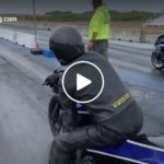 $5,000 final round! KZ vs. Busa! James Surber High Stakes Shootout, Samoa Dragstrip | CycleDrag.com