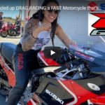Samoa Dragstrip - HOW she ended up DRAG RACING a FAST Motorcycle that's older than Her! Fearless Female Drag Biker!   CycleDrag
