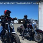 RACE DAY LIVE! WEST COAST DRAG BIKES FIGHT on the BEACH at Beautiful SAMOA! - Eureka, CA | CycleDrag LIVE STREAM