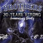 Jus Brothers MC 30th anniversary party