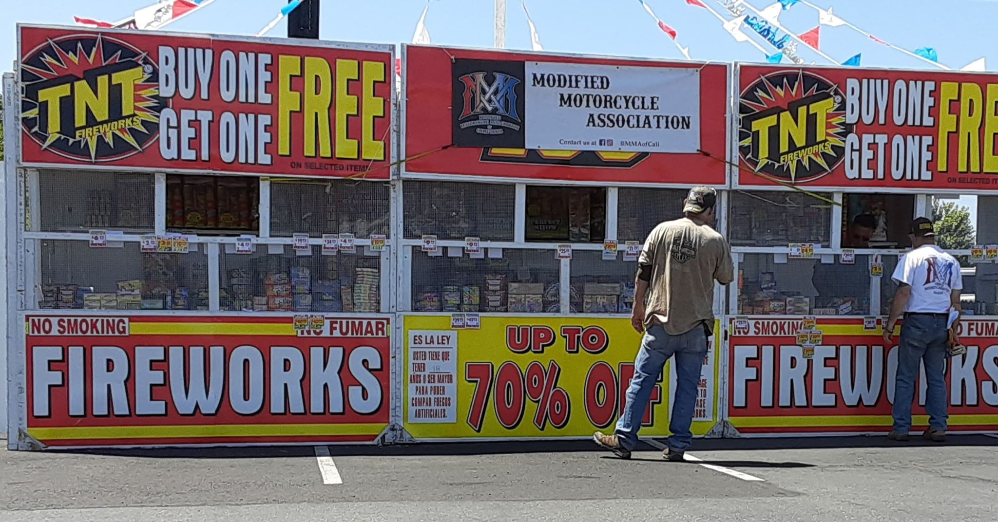 MMA CA Fireworks Stand