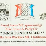 Local Locos MC Bike Show & Party - MMA FUNDRAISER - Oct 10.2020