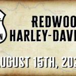 Redwood Harley-Davidson - Virtual Poker Run - Sat Aug 15, 2020