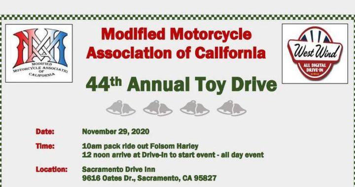 Mma 44th Annual Toy Drive Sacramento Bikercalendar Events