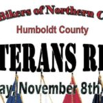 U.B.N.C. Humboldt – Veteran's Ride 2020 - Sun Nov 8