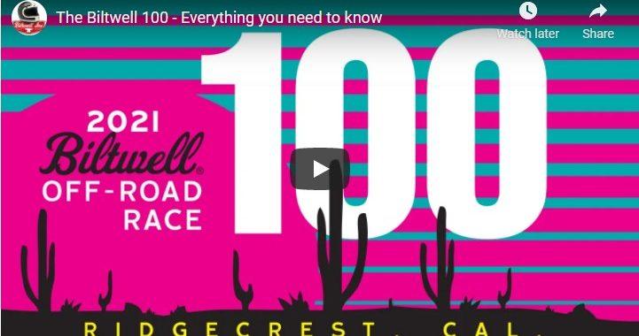 The Biltwell 100 Off-Road Race 2021