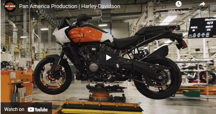 Harley-Davidson Pan America Production